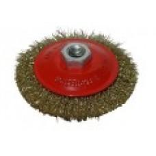 Щетка-крацовка дисковая, латунная 150 мм.