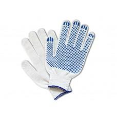 Перчатки вязаные с ПВХ-точкой