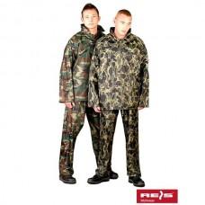 Дождевой комплект камуфлированный (куртка + брюки)